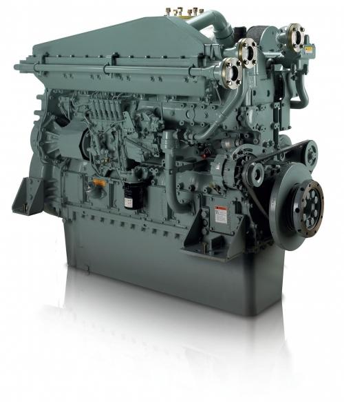 motor naval mitsubishi S6A3