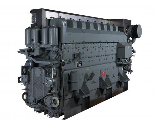 diesel inboard mitsubishi S8U-5