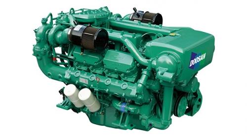 motor auxiliar diesel naval doosan 4AD158TI