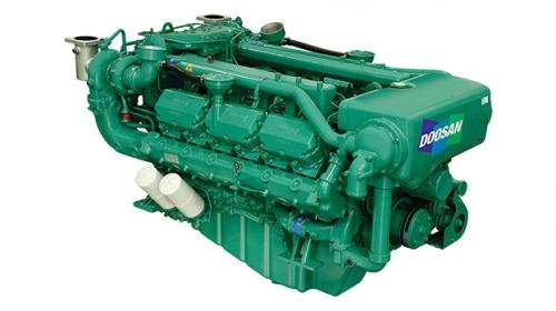 motor diesel inboard auxiliar doosan 4AD222TI