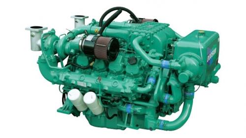 motor auxiliar diesel inboard doosan AD126TI