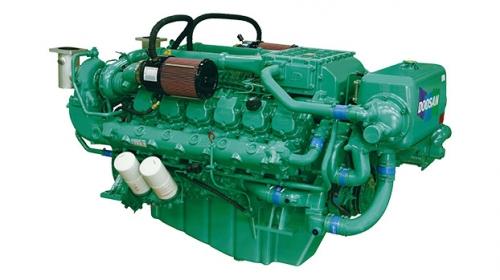 motor diesel naval auxiliar doosan AD180TI
