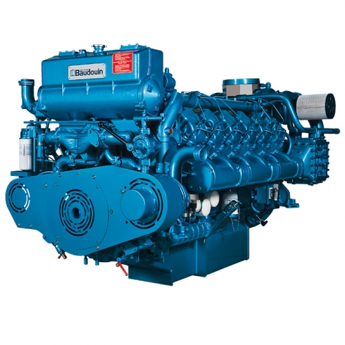 motor naval diesel inboard baudouin 12M-1