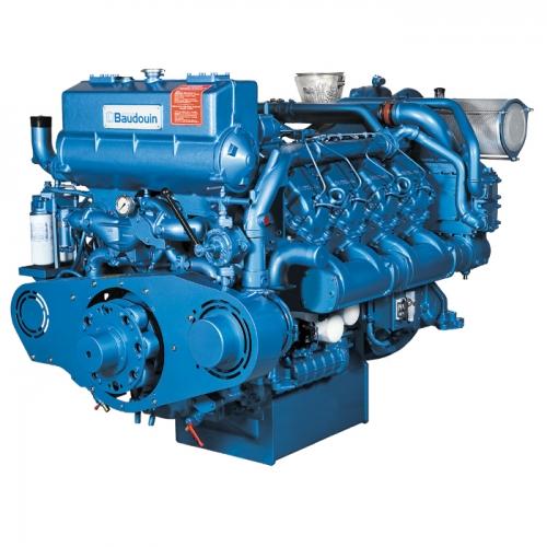 motor diesel baudouin 8M26.2