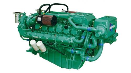 motor diesel naval doosan V222TI