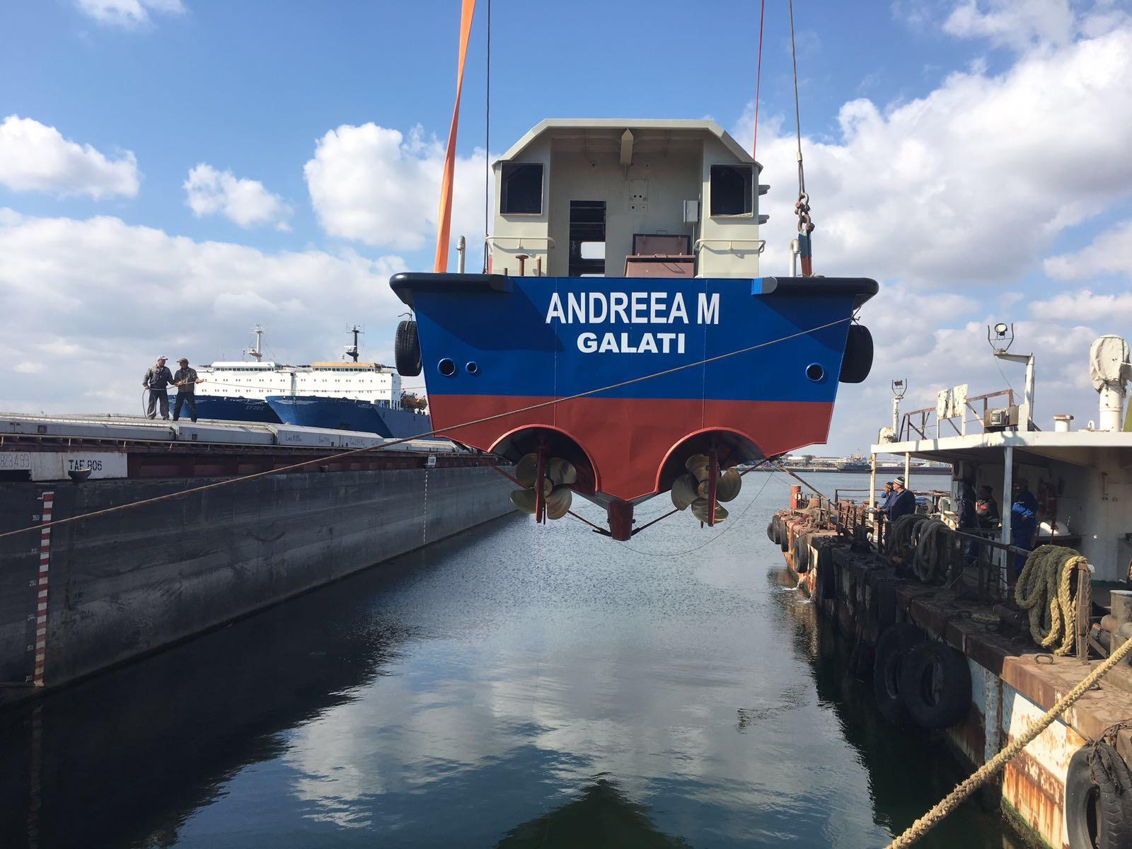 motoare navale diesel Doosan L126 pilotina